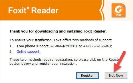 hướng dẫn cài đặt foxit reader
